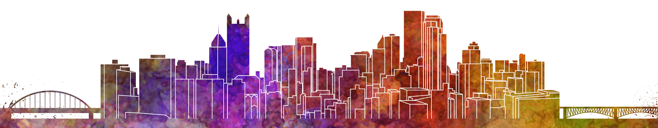 pittsburgh watercolor header